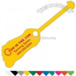 Soft Flexible Foot Shaped Vinyl Tag