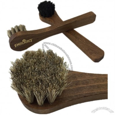 Soft Horsehair Shoe Brush