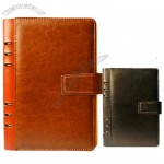Soft Leather Ringbinder Notebook