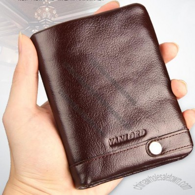 Soft Leather Wallet for Mans
