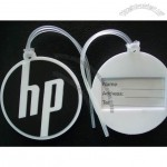 Soft PVC Round Luggage Tag