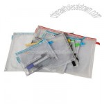 Soft PVC Zipper pen bag