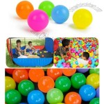 Soft Plastic Pit Ball 5 Bright Color Play Tent Tunnel Toy