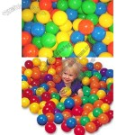 Soft Plastic Pit Ball Bright Color Play Tent Tunnel Toy