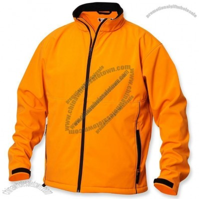 Soft Shell Zippered Custom Jacket