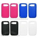 Soft Silicone Gel Skin Cover Cases for Nokia E72 (Hot Pink / Blue / Black/ White)