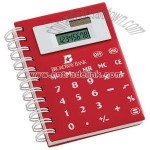 Soft Touch Notebook With Calculator