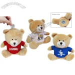 Soft Toy Bear Coin Money Bank