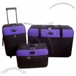 Soft Trolley Suitcases Set