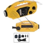 Solar AM/FM Radio Emergency Tool
