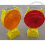 Solar Barricade Lamp, Solar Powered Warning Light