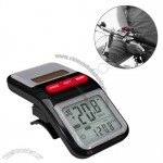 Solar Bicycle Pedometer