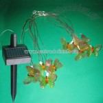 Solar Butterfly Rope Light