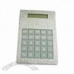 Solar Calculator with Rhinestone