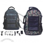 Solar Charger Laptop Backpack