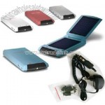 Solar Charger for iPod,Mobilephone,MP3,MP4