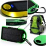 Solar Charger with Carabiner Hook