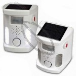 Solar Electronic Bird/Dog/Cat/Mouse Repeller with Ultrasound, Alarm, and 10pcs White LED Flash
