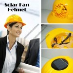 Solar Fan Safety Helmet