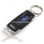 Solar Flashlight Key Ring