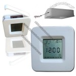 Solar Four Side Alarm clock