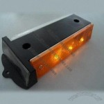 Solar LED Delineator, LED Solar Guardrail Security Warning Light