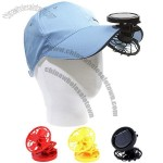 Solar Mini Cap Clip Fan