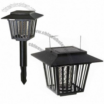 Solar Mosquito Killing Lamp, Made of ABS
