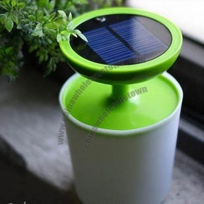Solar Pot Culture Night Light