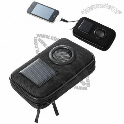 Solar Power Bank for Mobile with 800mAh Capacity