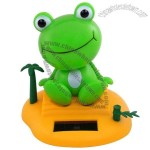 Solar Power Motion Toy - Frog