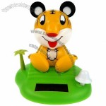 Solar Power Shaking Tiger Toy