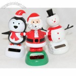 Solar Power Toys - Dancing Snowman, Penguin, and Santa - Christmas Gift Decoration