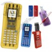 Solar Powered 8 Digit Full Function Calculator With 3 Pens In A Flip Open Case