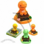 Solar Powered Bobble Head Doll Toy