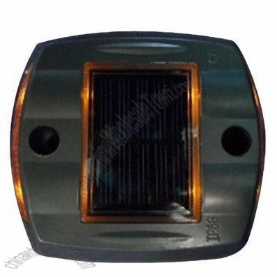 Solar Road Stud + Solar Aluminum Casting Spike LED Traffic Lights Signal