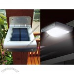Solar Sensor Sound Activated Lamp