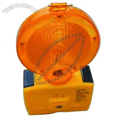 Solar Traffic Barricade Warning Light