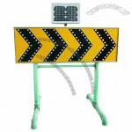 Solar Traffic Sign Warning