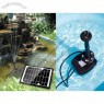 Solar Water Fountain with Battery and LED lights