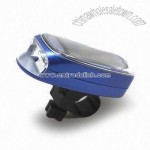 Solar-powered Bicycle LED Light