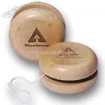 Solid Hardwood Yo Yo Ball