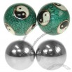 Solid Steel Color Stress Balls