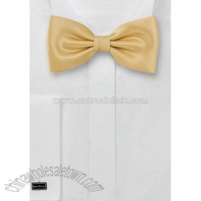 Solid color gold/yellow bow-tie