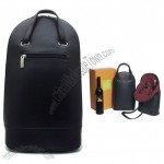 Solle Two-Bottle Wine Carrier - Black Monterey Leather