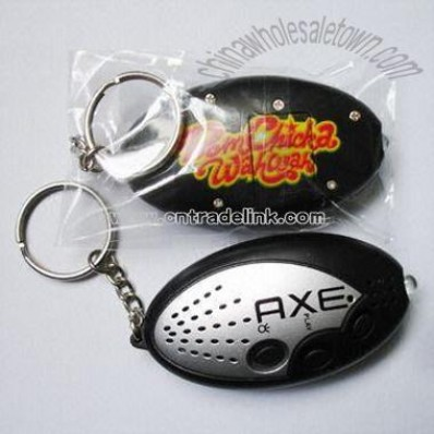 Sound Pre-recorded Keychain