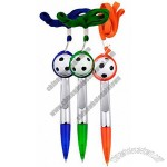 Special Soccer Pen with Lanyard