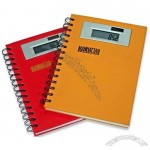 Spiral Notebook with Calculator Cover