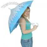 Splashing Raindrops Umbrella