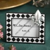 Splendid Fleur De Lis Design Place Card or Photo Frame Favors